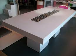 diy concrete dining table incredible agreeable diy concrete dining table top and white wooden