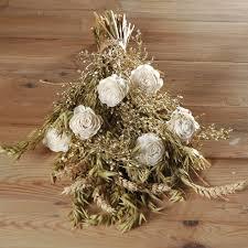 wedding oats gold ivory oats artificial flowers wedding flowergirl bouquet