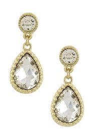 teardrop diamond earrings clara diamond teardrop earrings hippie cartel