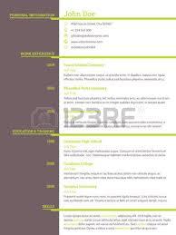 templates of cv resume vitae template modern cv resume curriculum vitae template