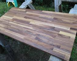 wood butcher block table butcher block table etsy