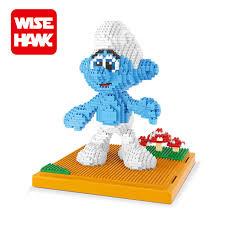 online shop wisehawk nanoblock toy clumsy grouchy diamond building