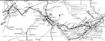 Maps Pennsylvania by Collection Of Diagram Map Us Railroads 1860 Download More Maps