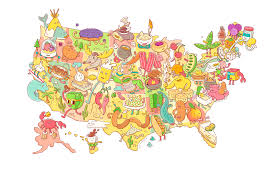 Illinois On A Map by The Best Food Festival In Every U S State