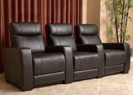 costco home theater seating grand 3 piece top grain leather power