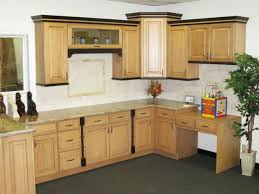 Kitchen With White Appliances by Kitchen Designs Antique White Cabinets With Cherry Island Small