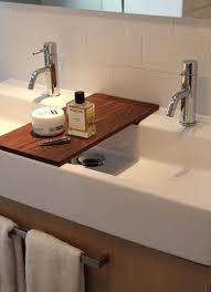 double trough bathroom sink 47 black granite yat shadow 11