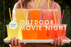 Backyard Movie Party Ideas by Styled Eats Food For An Outdoor Movie Night