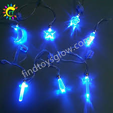 multicolor led light up acrylic pendant necklace with