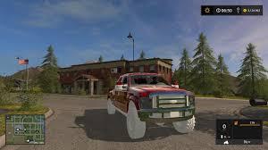 Ford F350 Truck Weight - ford f350 work truck v2 fs17 farming simulator 2017 17 ls mod