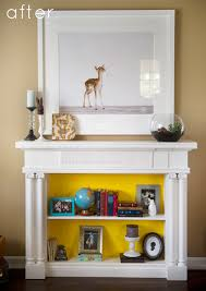 Fireplace Opening Covers by 15 Beautiful Diy Ideas For Your Fireplace U2013 Design Sponge