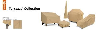 Classic Accessories Patio Furniture Covers - amazon com classic accessories patio umbrella cover tan model