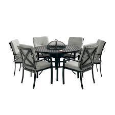 6 Seater Patio Furniture Set - jamie oliver grilling 6 seater set riven pewter leekes