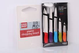 Coloured Kitchen Knives Set Colour Collection Kitchen Bundle