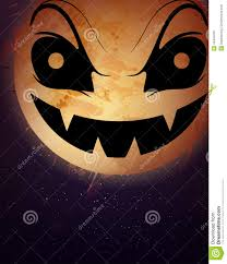 halloween moon background stock vector image 44444230