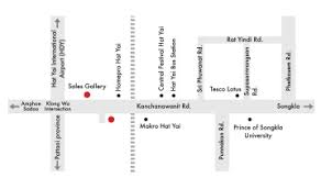 map of hat yai dcondo kanchanavanich hatyai location
