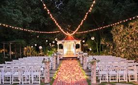 wedding decor lighting decoration of night marriage usa also
