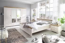 Schlafzimmer Set 140x200 Schlafzimmermöbel Holz Massiv Klassische Schlafzimmer Komplett Im