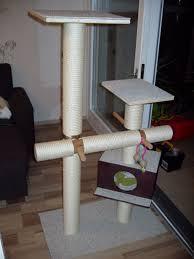 diy cat tree with hammock 6 steps