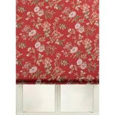 Printed Fabric Roman Shades - first rate blinds tullahoma cotton print flat fold roman shade by