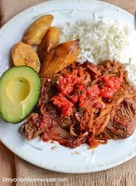 la cuisine cr le bistec a la criolla style creole steak my