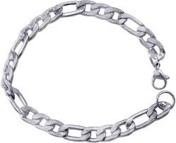 bracelet silver price images Men style stainless steel sterling silver bracelet price in india jpeg