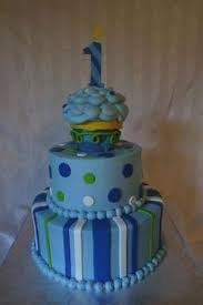 dots and stripes 1st boy birthday cake see more 1st birthday and