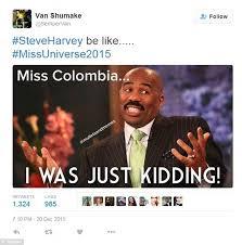 Miss Meme - steve harvey s colossal miss universe gaffe sets off meme