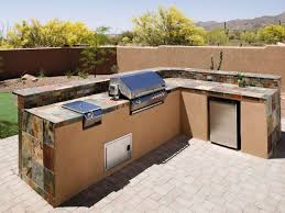 Outdoor Kitchen Cabinets Polymer Concrete Countertops Stucco Best - Outdoor kitchen cabinets polymer