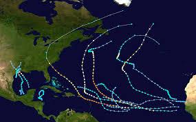 Caribbean Weather Map 1989 Atlantic Hurricane Season Wikipedia