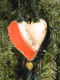 how to make a victorian heart ornament hgtv