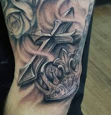tattoo cross forearm collection of 25 cross crown tattoo on forearm