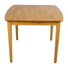 67 off crate u0026 barrel crate u0026 barrel parsons dining table tables
