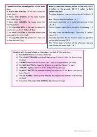 Comprehension Worksheets For Grade 8 Saving Lives U2013 Reading Comprehension Grammar Present Perfect