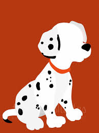 101 dalmatians 8x10 minimalist poster tintsshadesfineart