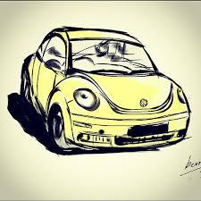 beetle sketch while waiting the carwash vw beetle volks u2026 flickr