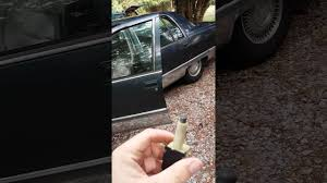 Light Switch Replacement 1994 Cadillac Fleetwood Brake Light Switch Replacement Youtube