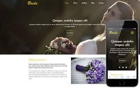 wedding planner websites a flat wedding planner bootstrap responsive web template