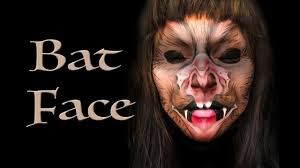 Bat Face Makeup Halloween by Bat Face Halloween Makeup Tutorial Youtube
