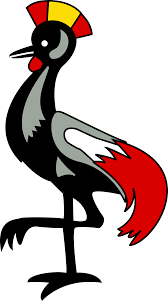 crowned crane clipart clipground