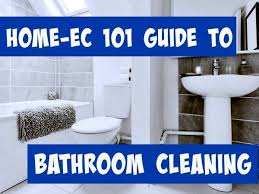 Acid For Bathroom Cleaning How To Clean A Very Dirty Toilet Home Ec 101