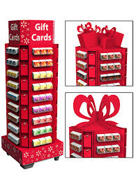 gift card display marketing impact limited gift card display