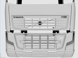volvo model trucks 3d modeling blog volvo fh16 750 wip update