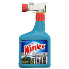 windex 32 oz outdoor glass cleaner 040132 the home depot