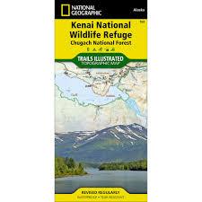 Kenai Alaska Map by 760 Kenai Nwr Chugach National Forest Trail Map National