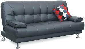black leather click clack sofa bed u2013 wizbabies club