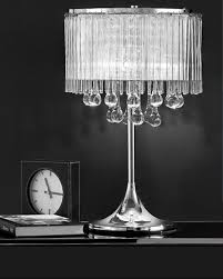 White Ceramic Bedroom Lamps Comely Decorating Ideas Using Round White Crystal Ceramic Table