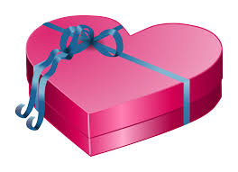 clipart valentines day gift box