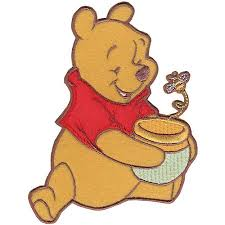 honeypot wedding registry disney winnie the pooh pooh honey pot and bee iron on applique