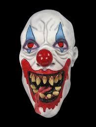 killer clown mask killer clown scary soft rubber costume mask